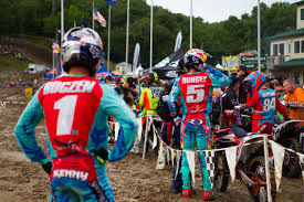 kenny motocross gear motocross action magazine hard facts hangtown national starting over