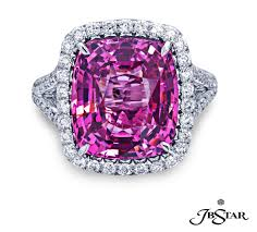 pink star diamond ring august birthstones american gem society