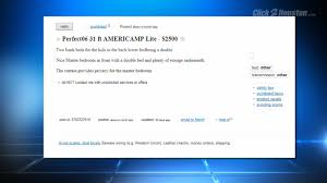 mother warns others about craigslist scammers
