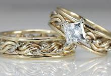 christian wedding rings sets cord of three wedding rings christian wedding bands made by
