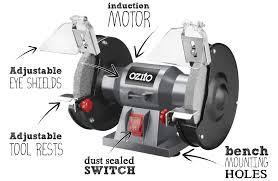 bench grinder lawn mower blade sharpener jigs for chisel