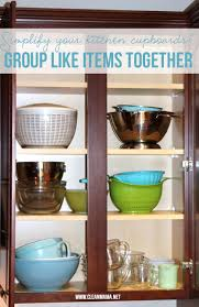 Organizing Kitchen Cabinets Simple Ways To Organize Kitchen Cupboards Clean Mama