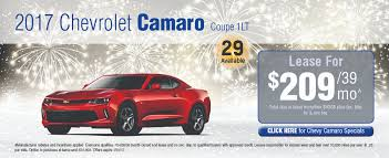 chevy camaro lease offers lease specials chevy buick gmc vehicles at lynch gm superstore