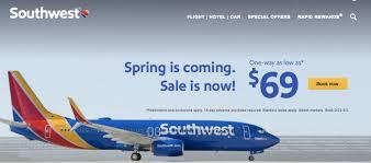 southwest sale southwest sale flights starting at 69 deals we like