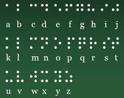 Alphabet Blind Braille Revival League Of Texas
