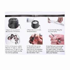 gel polish remover fast polish glue cleaner tool easily electric
