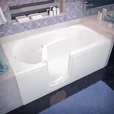 spa world venzi vz3060silws rectangular soaking walk in bathtub