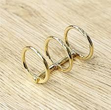 metal binder rings images 2pcs lot a5 a6 a7 metal loose leaf book binder hinged jpg