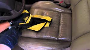 Rent Car Upholstery Cleaner Steam Cleaning Leather Interior Youtube