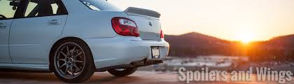 subaru hatchback wing spoilers and wings u2013 import image racing