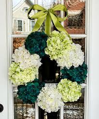 hydrangea wreath how to make a hydrangea wreath