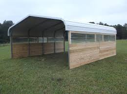 Attached Carports by Powell Acres Farm Carport Barn