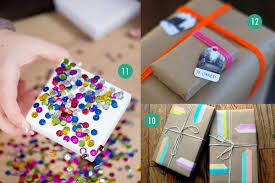 gift paper wrap 20 last minute gift wrap ideas using paper grocery bags other
