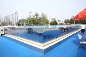 inside swimming pool swimming inside an optical illusion prototype pool debuts at