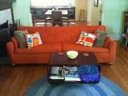 online catalog home decor furniture orange couches modern living room online on sale crate