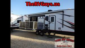 holy dirt rv man a side patio deck a must see bp toy hauler