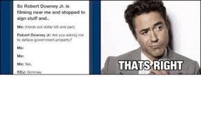 Robert Downey Jr Meme - awesome 25 robert downey jr meme testing testing
