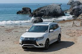mitsubishi galant 2018 2018 mitsubishi outlander phev first drive winner by default