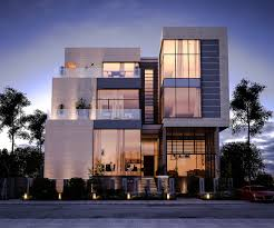 Row House Front Elevation - 50 stunning modern home exterior designs that have awesome facades