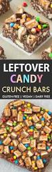 gluten free candy crunch bars vegan dairy free