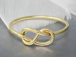 commitment ring 14k gold ring infinity knot ring solid gold ring promise ring