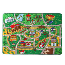 tapis chambre enfants éducatifs tapis chambre d enfants ville center de la carte rue de