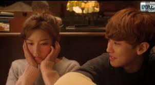 para pemain film exo next door chanyeol buat pipi yeon hee memerah di exo next door episode 13