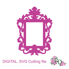 black friday silhouette cameo sale svg dxf frame vintage oval photo cutting template instal