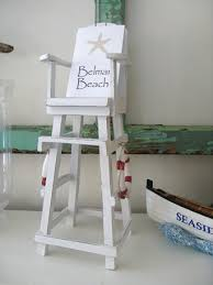 lifeguard chair centerpieces