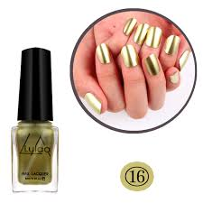 5 color nail varnish metallic nail polish colorful mirror effect