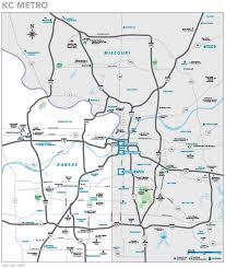 kansas city metro map city metro area map