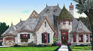 house plans with turrets extremely ideas 3 one story house plans with turret plan 48328fm