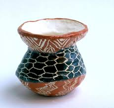 art for small hands clay pueblo pottery