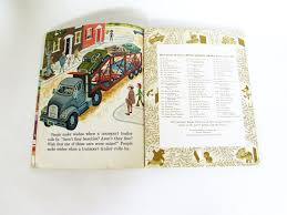 golden trucks let u0027s go trucks vintage little golden book