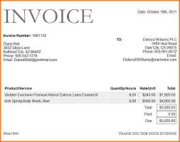 8 dj invoice sample invoice template