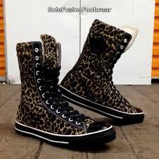 converse mens all star combat boots black sz 12 womens x hi