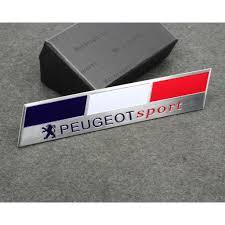 logo peugeot sport amazon com car styling accessories c171 emblem badge decal