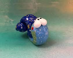 snail ornament etsy