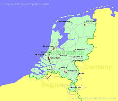 netherlands map images airports in the netherlands or guides flights