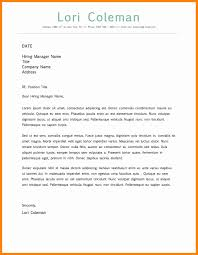 7 simple cover letter template word