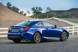 lexus is250 f sport fully loaded 2016 lexus rc coupe adds turbo four 200t v 6 300 awd models