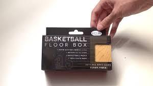 Floor Box by Fairfield Basketball Floor Box Unboxing Youtube