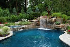 pool designs to match your garden style