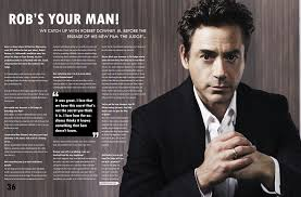 image result for magazine movie double page spread double page