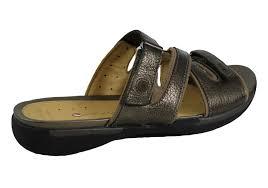 Images of Leather Slide Sandals