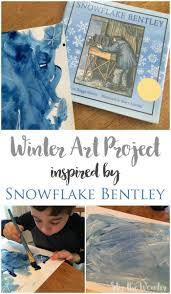 snowflake bentley winter art project inspired by snowflake bentley stir the wonder