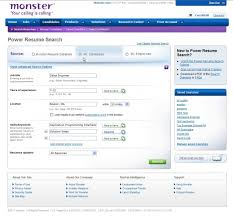 Monster Com Resume Search Monster Resume Search Resume Templates
