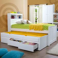Kids Beds With Storage Drawers Interesting Kids Beds With Storage Boys Boat Bed Wardrobe