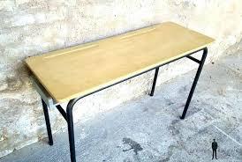 bureau ecolier 1 place bureau d ecolier ancien en bois a bureau decolier ancien en bois