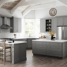 home depot kitchen cabinets and sink hton bay designer series melvern assembled 36x34 5x23 75